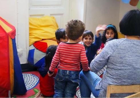 希腊难民调研项目